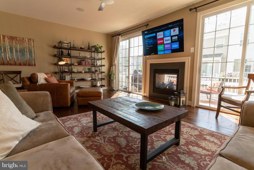 Family Room - 127 ANTHEM AVE, HERNDON