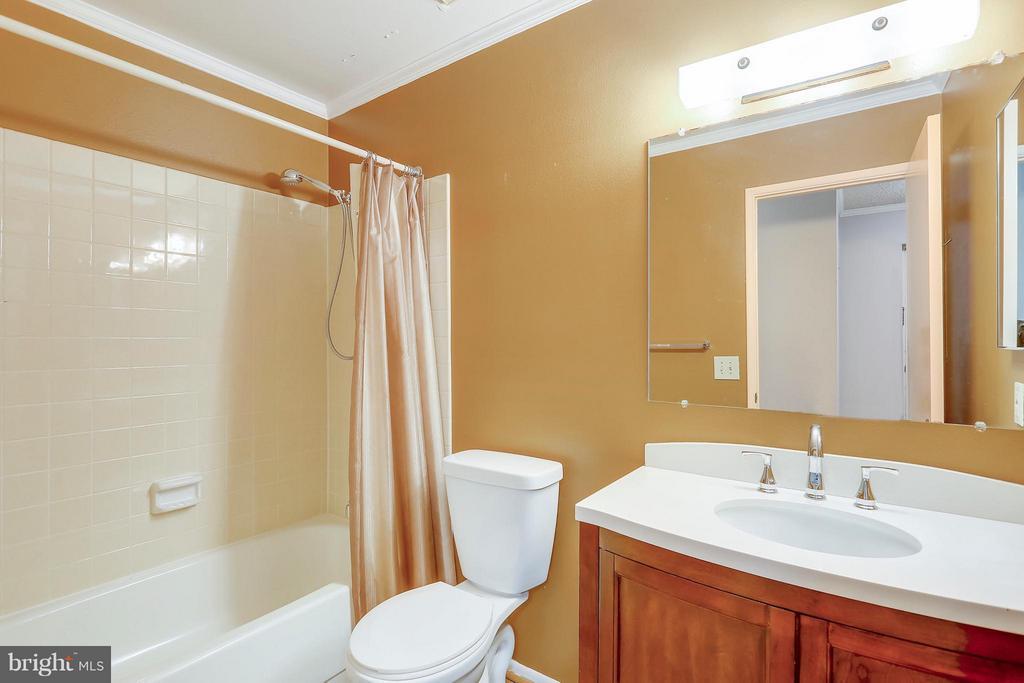 Guest Bath - 15100 GLADE DR #11-3E, SILVER SPRING