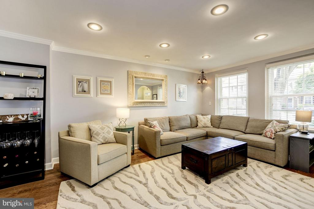 Living Room - 4672 36TH ST S #B, ARLINGTON