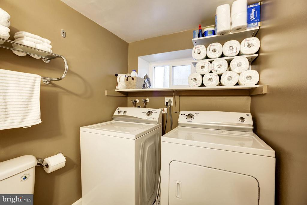 Lower Level Full Bath with Laundry - 4672 36TH ST S #B, ARLINGTON