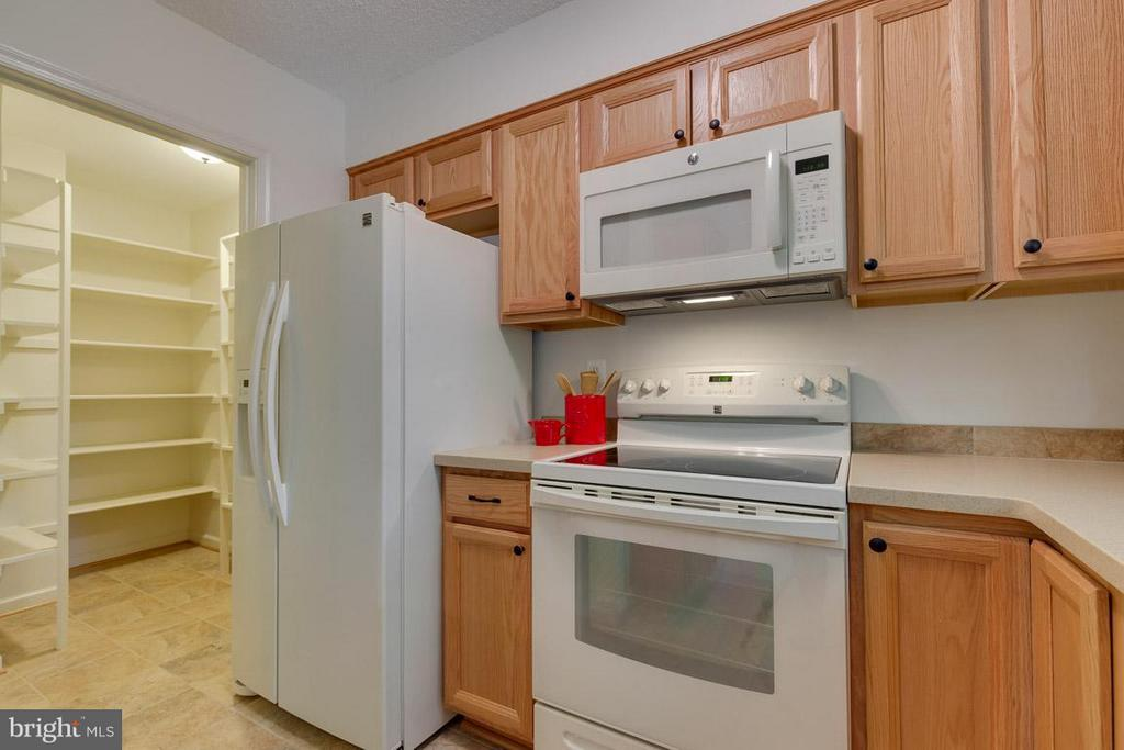 Huge walk-in pantry offers tons of storage - 2104 CARTWRIGHT PL, RESTON