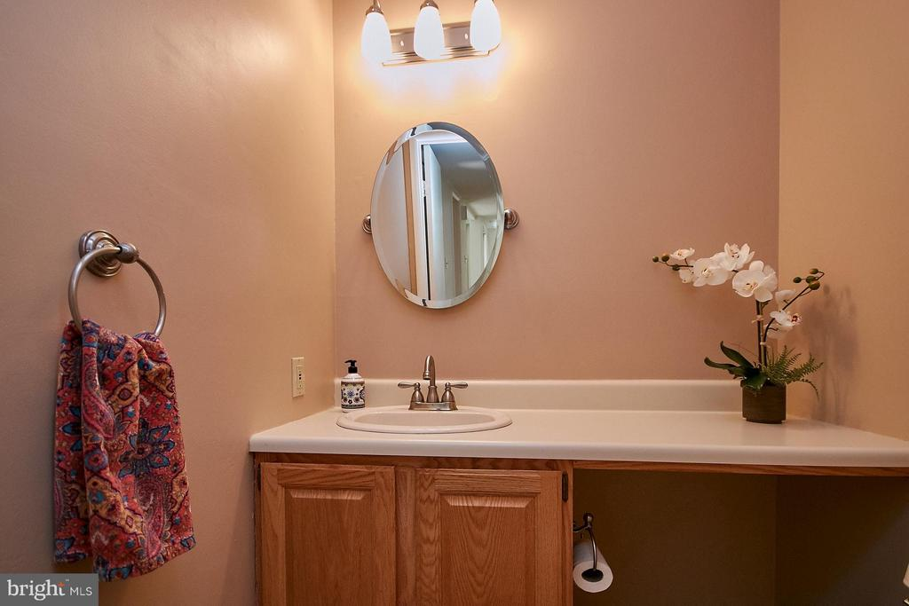 Main Level Powder Room - 11462 LINKS DR, RESTON