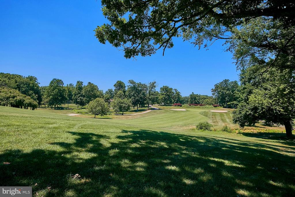 View of 9th Fairway at Hidden Creek Country Club - 11462 LINKS DR, RESTON