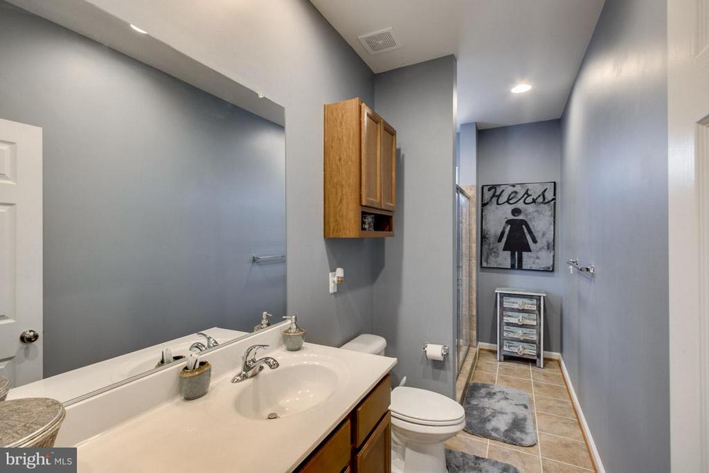 His and Her master bath - 10339 SPRING IRIS DR, BRISTOW