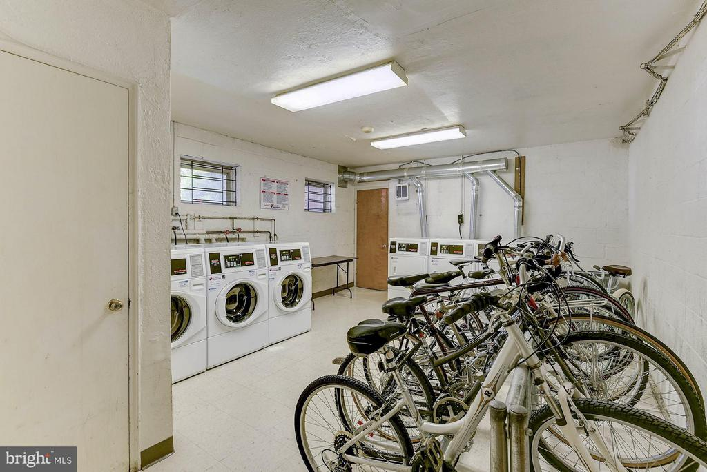 Laundry in building - 1336 ODE ST #8, ARLINGTON