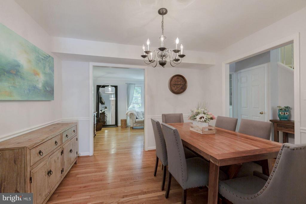 Dining Room - 7081 LEESTONE ST, SPRINGFIELD