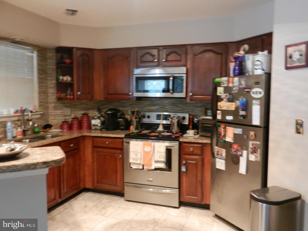 Fabulous Kitchen remodeled - 5612 WILLOUGHBY NEWTON DR #16, CENTREVILLE