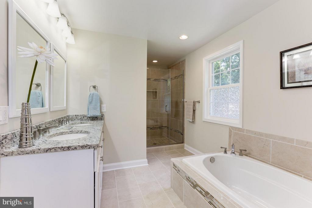 Main level Bathroom (Master) #1 - 4812 VILLAGE DR, FAIRFAX