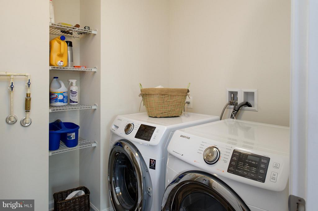 Separate Laundry Room on Bedroom Level - 7479 BRUNSON CIR, GAINESVILLE