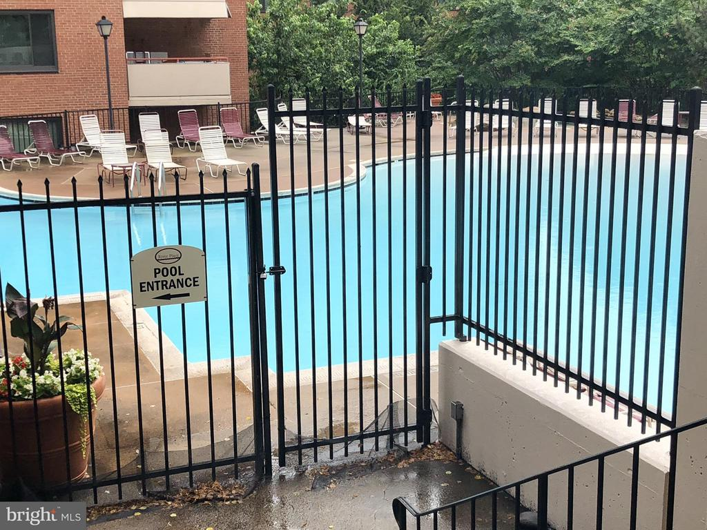 Beautiful Swimming Pool - 1021 ARLINGTON BLVD #1017, ARLINGTON