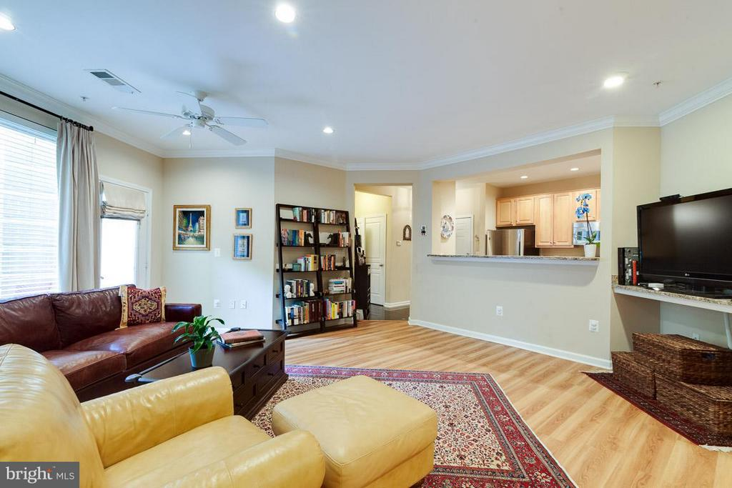Living Room - 12000 MARKET ST #151, RESTON