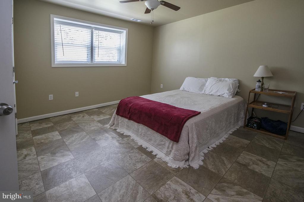 Lower level Bedroom (Master) - 53 WILLOW BRANCH PL, FREDERICKSBURG