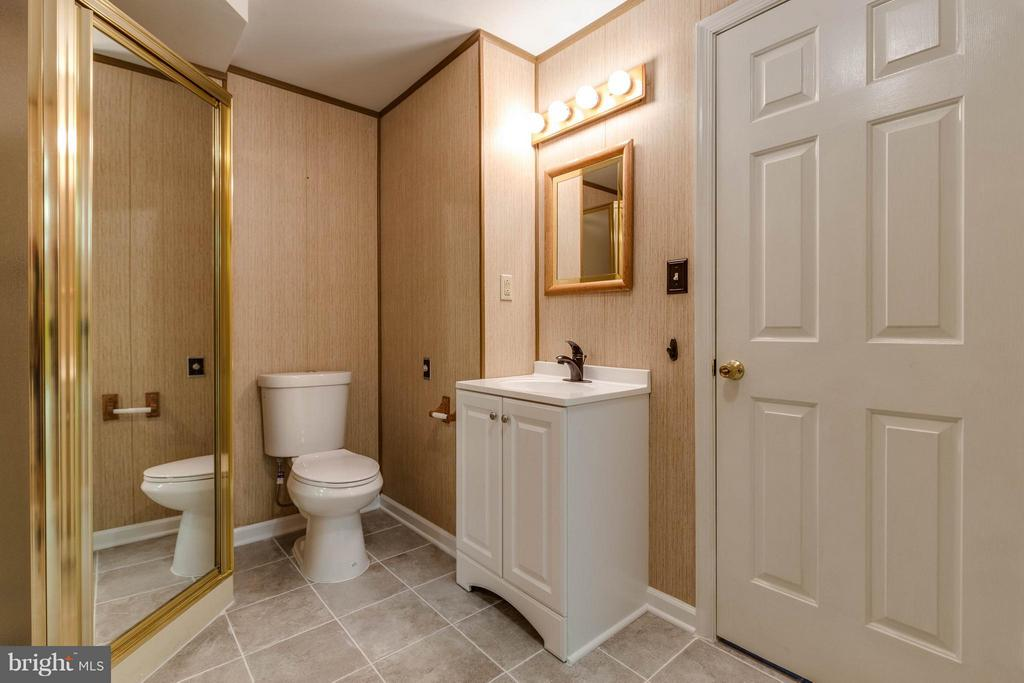 Lower level has a great full bathroom - 9820 WESTWOOD MANOR CT, BURKE