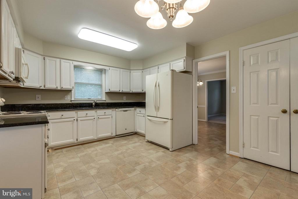 Granite countertops and wonderful pantry! - 9820 WESTWOOD MANOR CT, BURKE