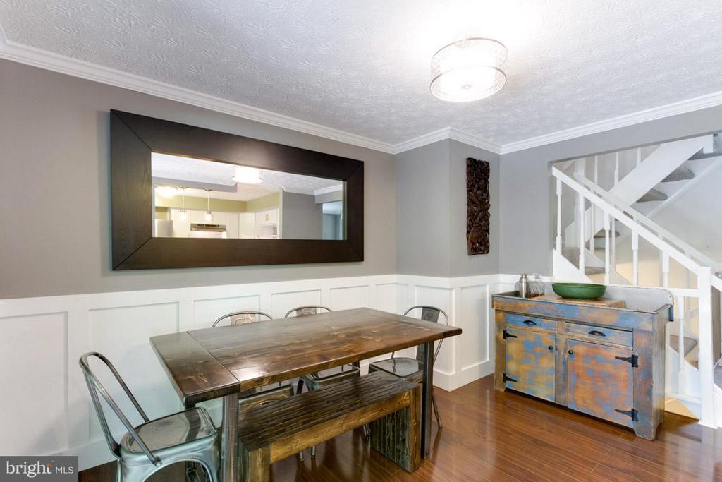 Dining area off kitchen - 11564 IVY BUSH CT, RESTON