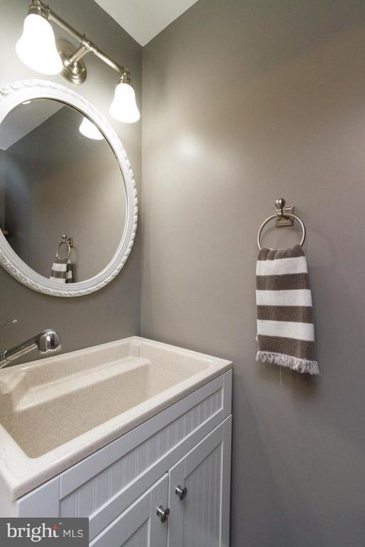 1/2 bath in basement - 11564 IVY BUSH CT, RESTON