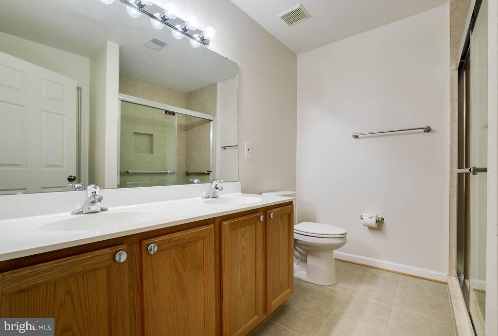 Master Bath Shower Completely Renovated - 25431 MORSE DR, CHANTILLY