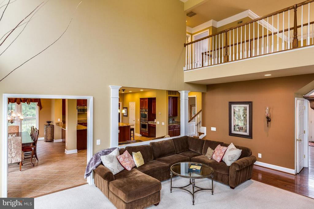 Cat Walk Overlooking Gorgeous Family Room - 21135 WHITE CLAY PL, LEESBURG