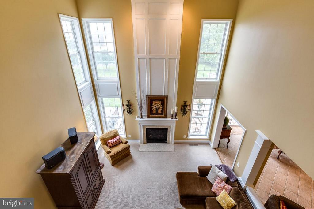 Exquisite View  of 2- Story Family Room - 21135 WHITE CLAY PL, LEESBURG