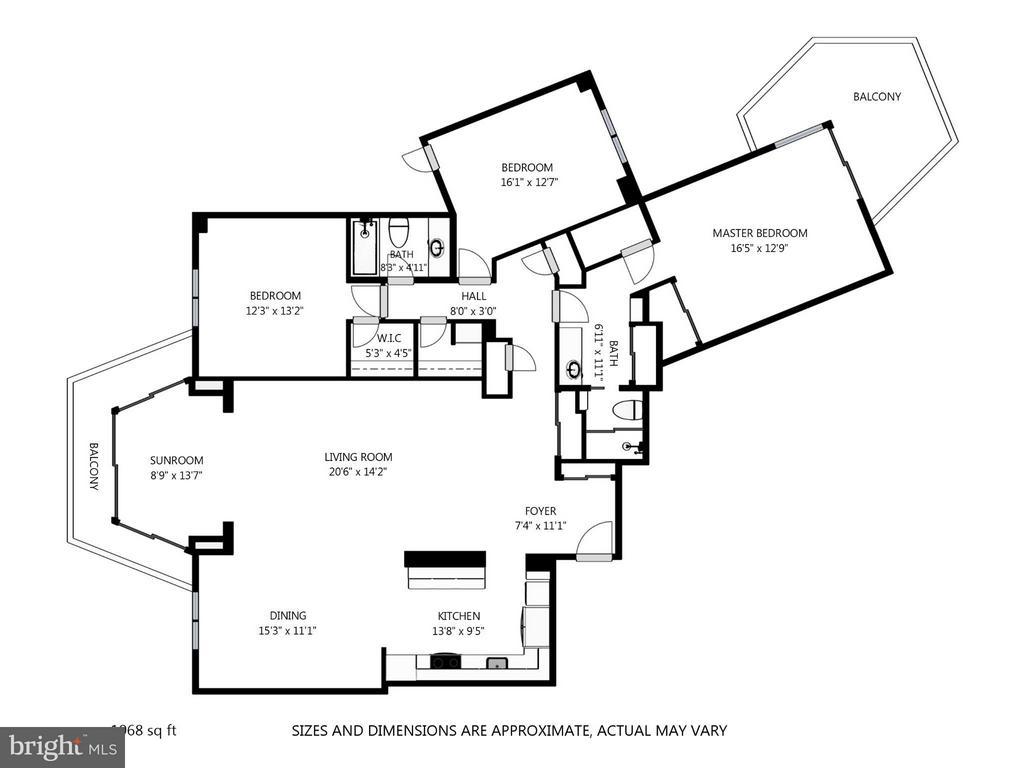 Floor Plan - 5904 MOUNT EAGLE DR #118, ALEXANDRIA