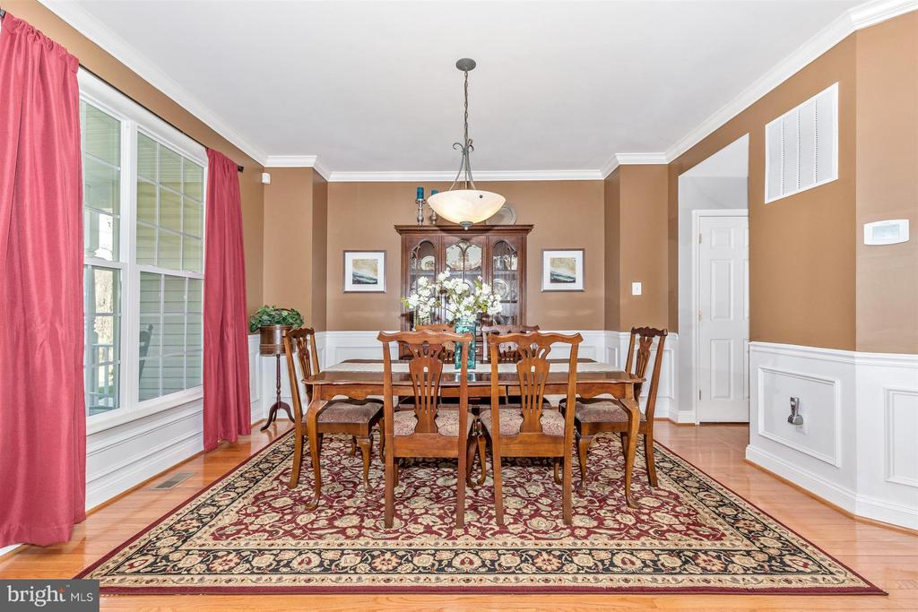 Open dining room with space for 8+ seating! - 6653 SOUTH CLIFTON RD, FREDERICK