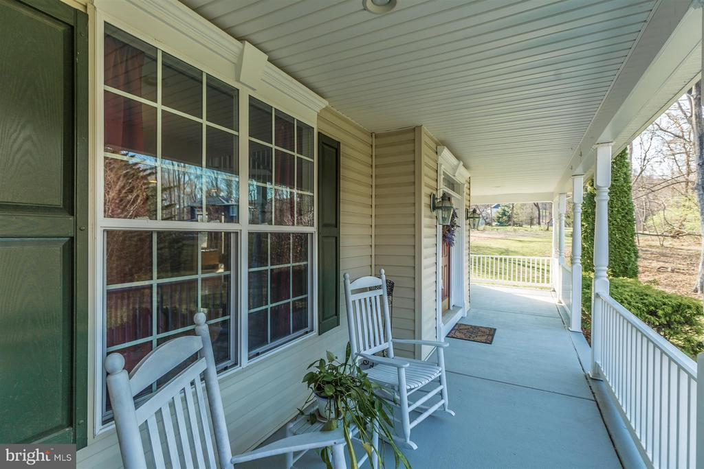 Relax on your large covered front porch! - 6653 SOUTH CLIFTON RD, FREDERICK