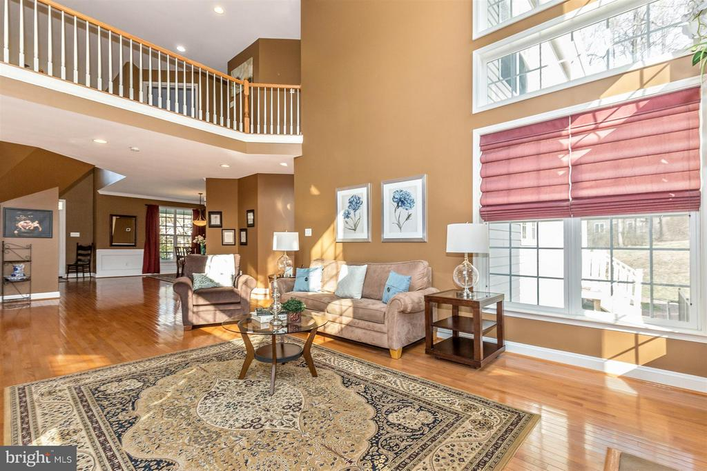 Overlook onto great room. - 6653 SOUTH CLIFTON RD, FREDERICK