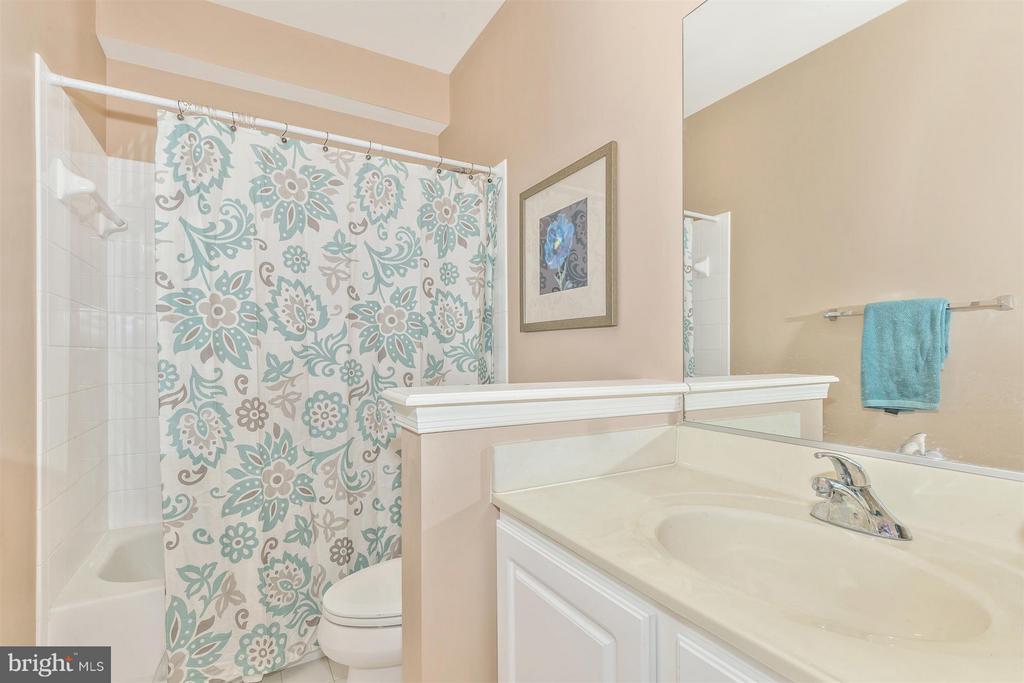 Full bathroom in basement! - 6653 SOUTH CLIFTON RD, FREDERICK