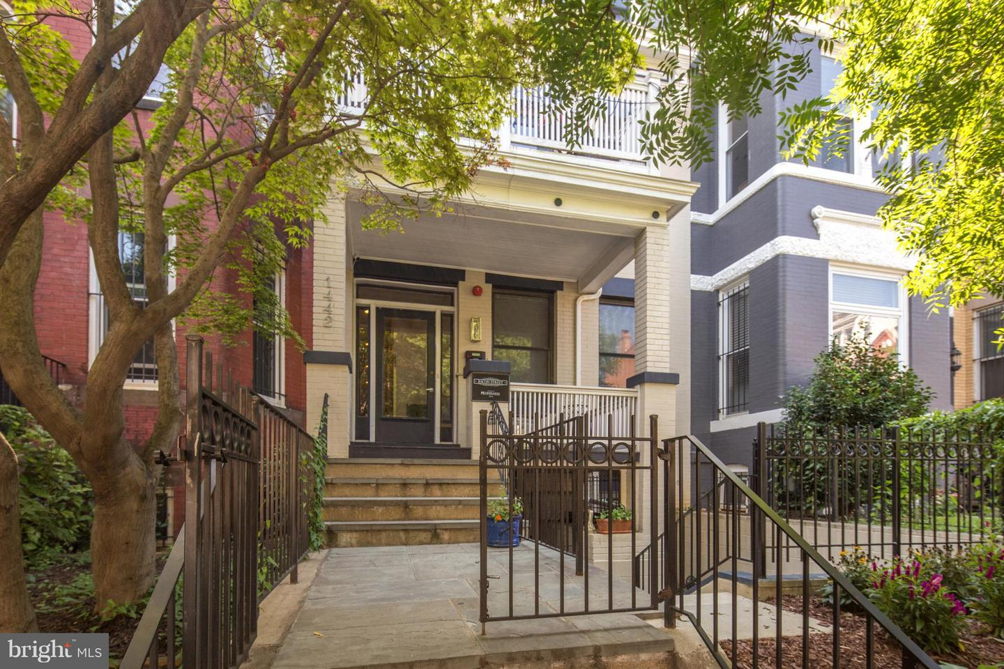 Single Family for Sale at 1442 Harvard St NW #3 Washington, District Of Columbia 20009 United States