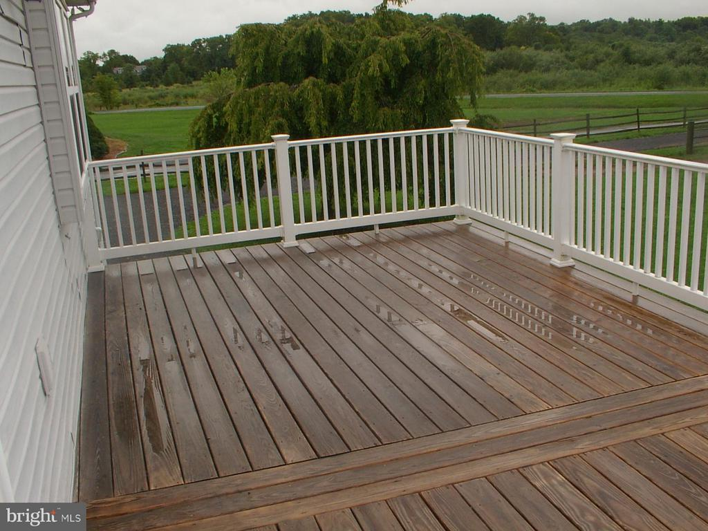 Beautiful deck - 1919 WITHERS LARUE RD., BERRYVILLE