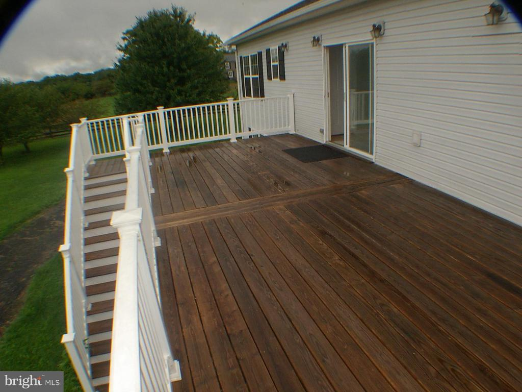 Great views from large deck. - 1919 WITHERS LARUE RD., BERRYVILLE