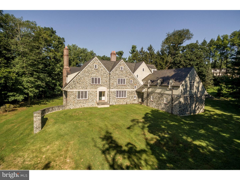 Частный односемейный дом для того Продажа на 1150 YOUNGSFORD Road Gladwyne, Пенсильвания 19035 Соединенные Штаты