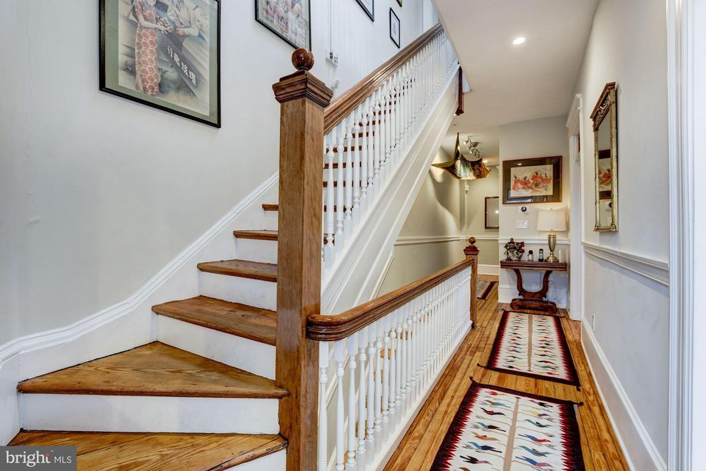 2nd Floor Stair Hall - 506 A ST SE, WASHINGTON
