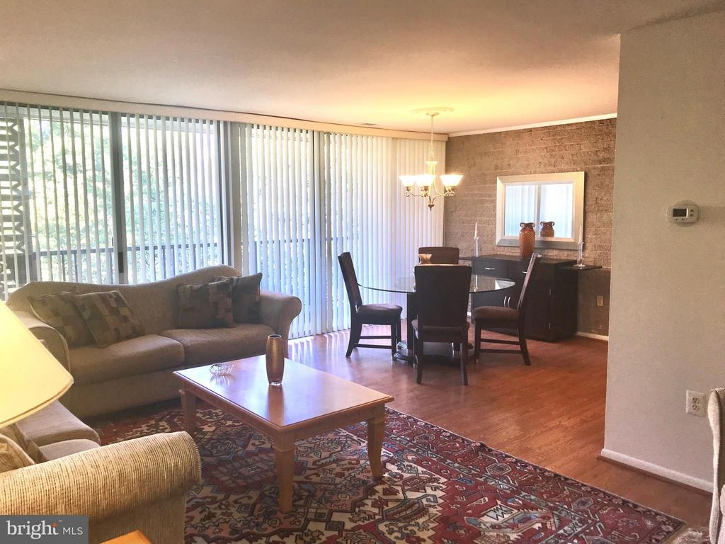 view from front entry - 4420 BRIARWOOD CT N #41, ANNANDALE