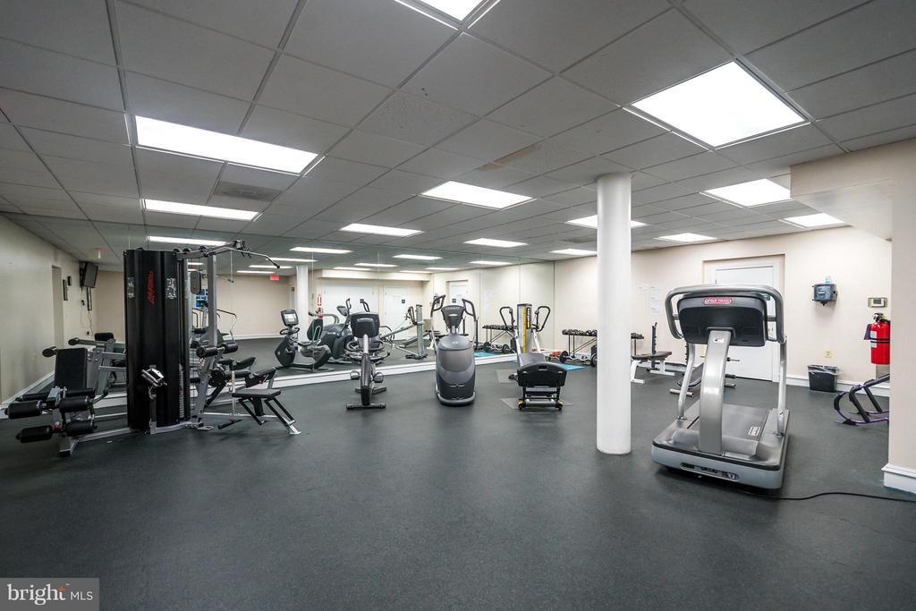 Community Exercise Room - 5575 SEMINARY RD #115, FALLS CHURCH