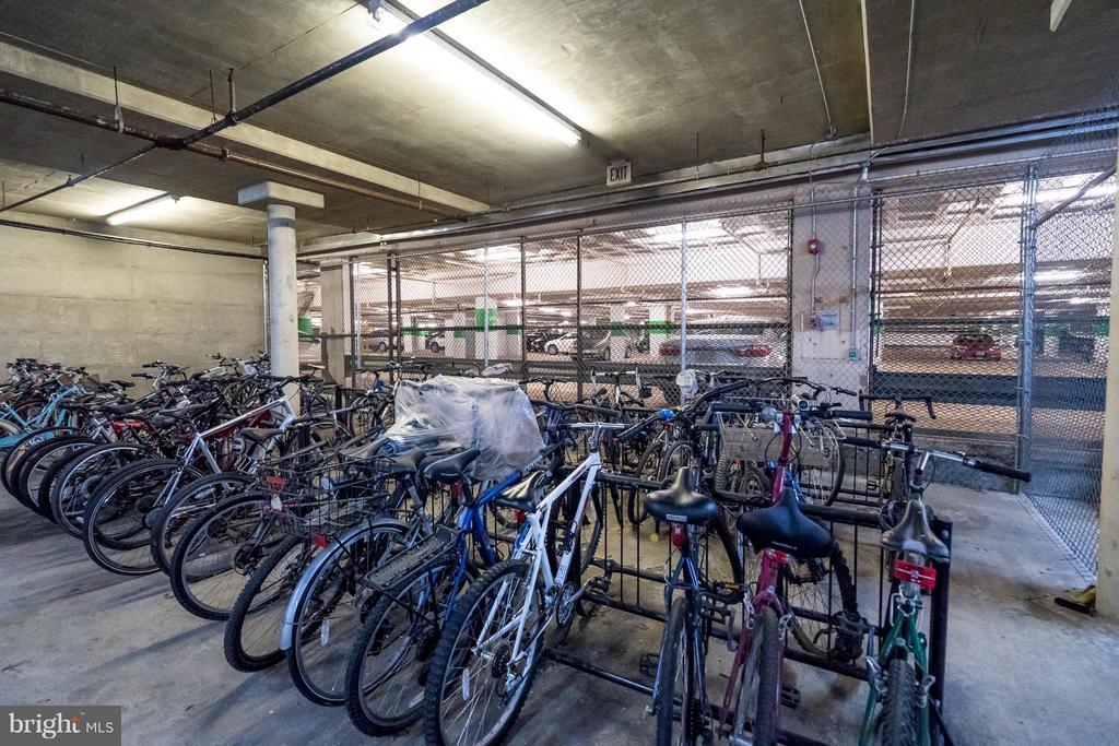 Secure Community Bike Storage - 5575 SEMINARY RD #115, FALLS CHURCH