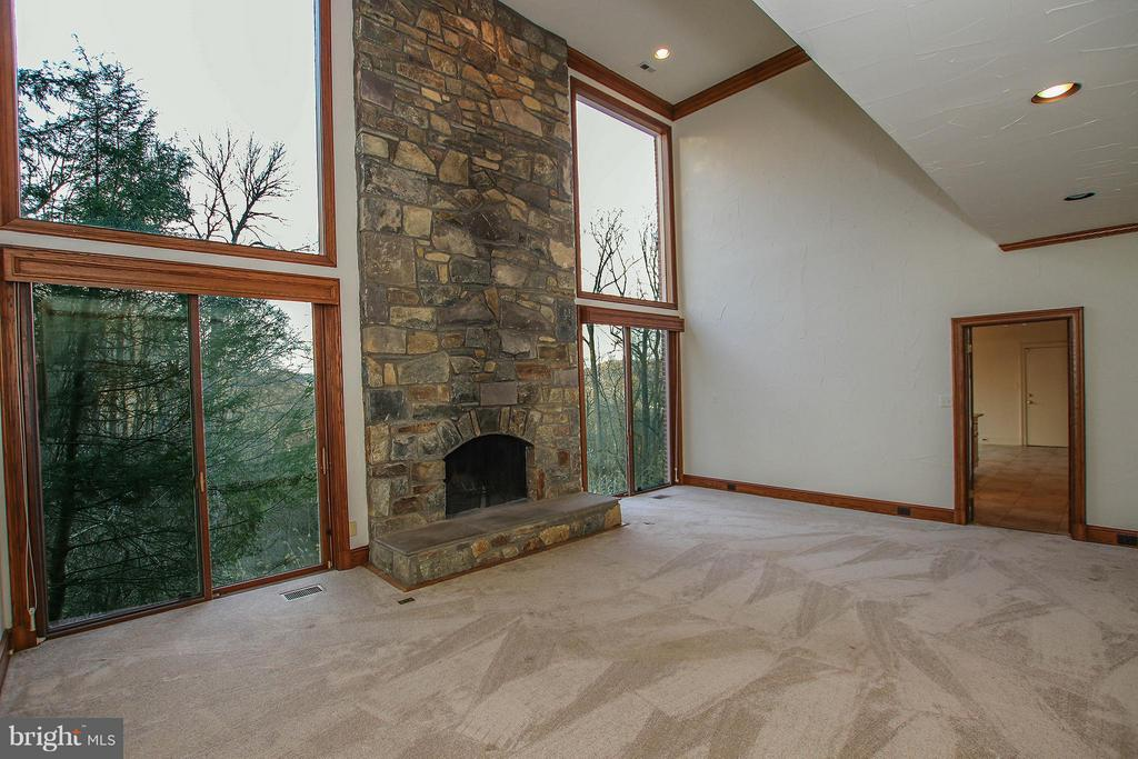 Window-filled family room offers spectacular view - 612 LIVE OAK DR, MCLEAN