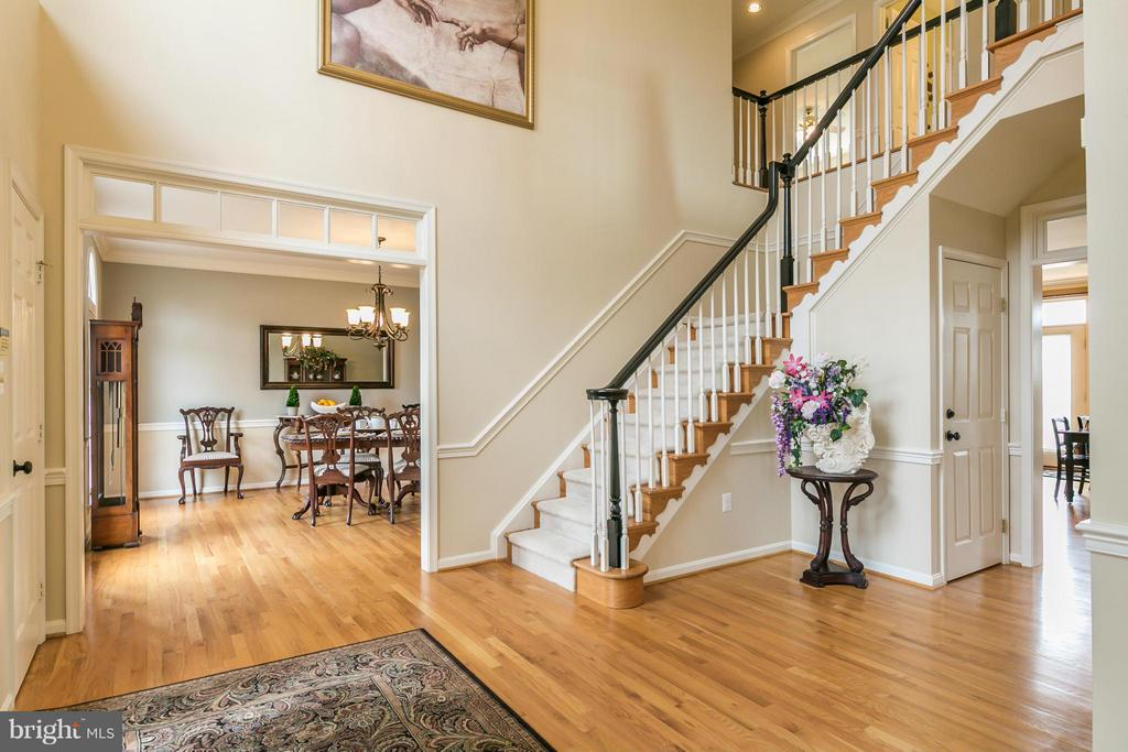 Foyer (view of dining room) - 42001 RASPBERRY DR, LEESBURG