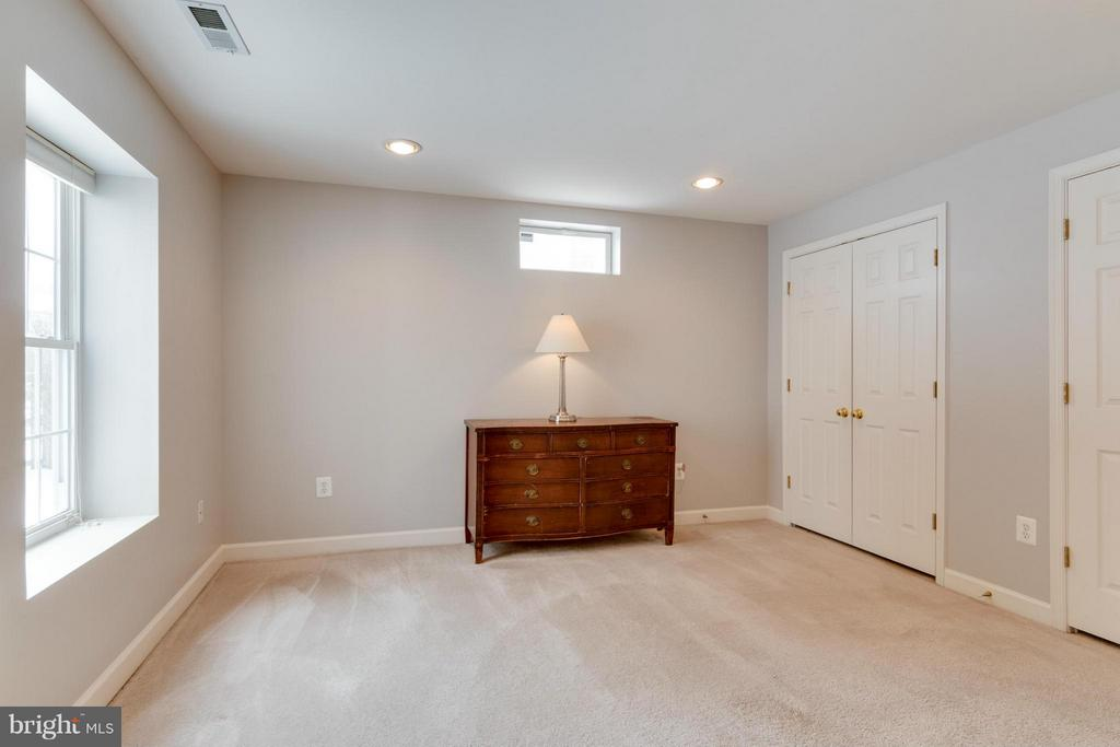 Large 6th Bedroom in basement - 3849 GLASGOW WAY, FREDERICK