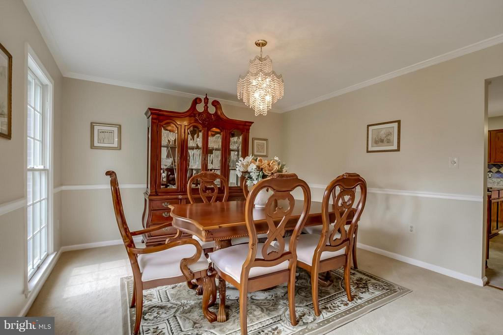 Dining Room - 5 NEW BEDFORD CT, STAFFORD