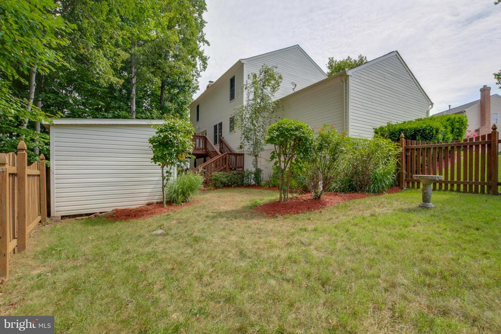 Exterior (Rear) - 5 NEW BEDFORD CT, STAFFORD