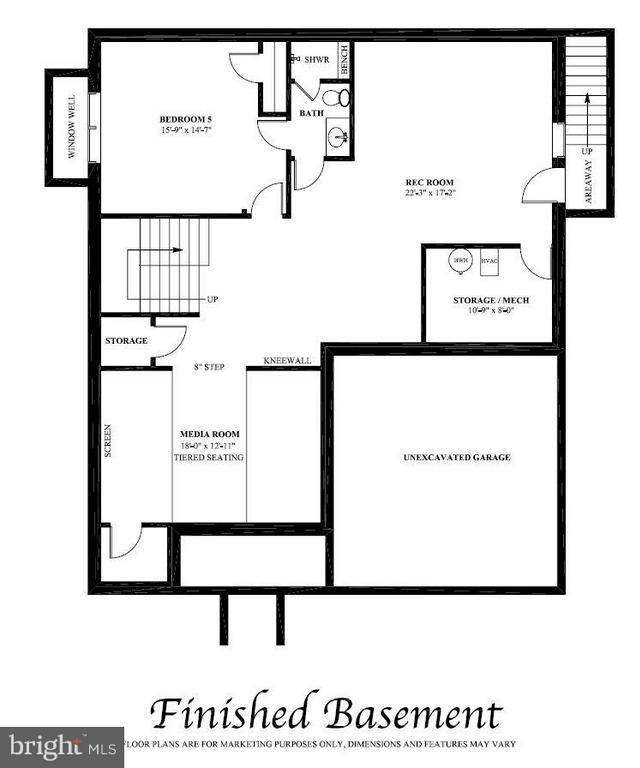 Interior (General) - 6713 19TH ST N, ARLINGTON