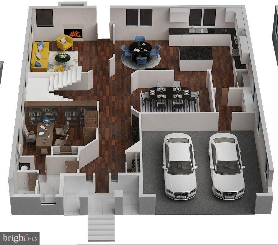 Main Level 3D - 6713 19TH ST N, ARLINGTON