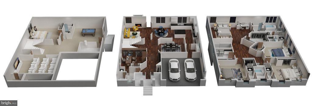 3D Floor Plans - 6713 19TH ST N, ARLINGTON