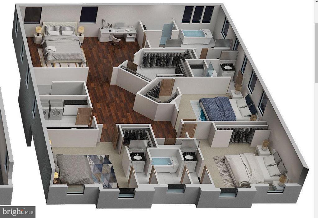 Upper Level 3D - 6713 19TH ST N, ARLINGTON