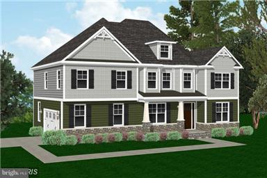 Artist Rendering - Options Exist to Change Colors - 6717 19TH ST N, ARLINGTON