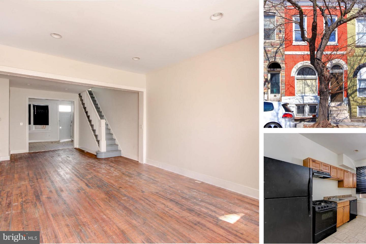 Single Family for Sale at 1804 Lafayette Ave E Baltimore, Maryland 21213 United States