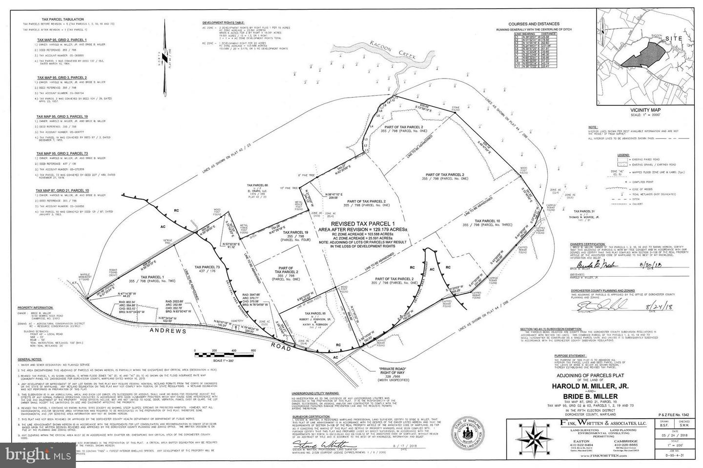 Land for Sale at Andrews Rd Crapo, Maryland 21626 United States