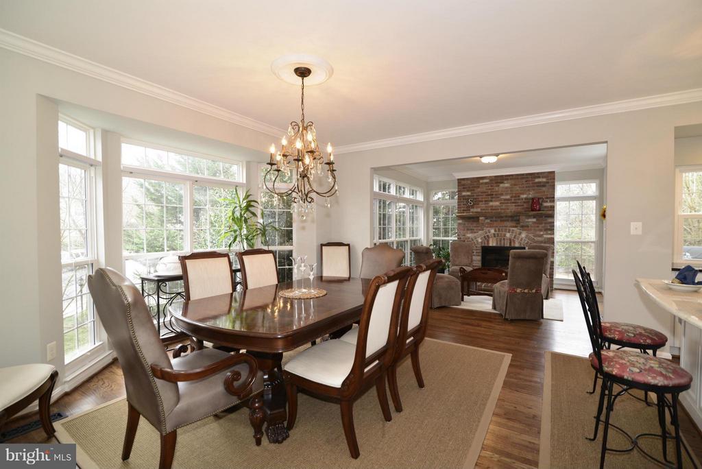 Dining Room - 12240 DORRANCE CT, RESTON