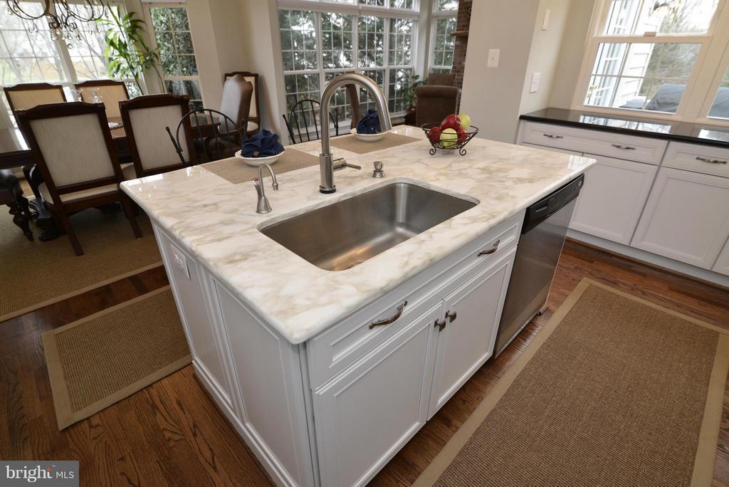 Kitchen Island Sink - 12240 DORRANCE CT, RESTON
